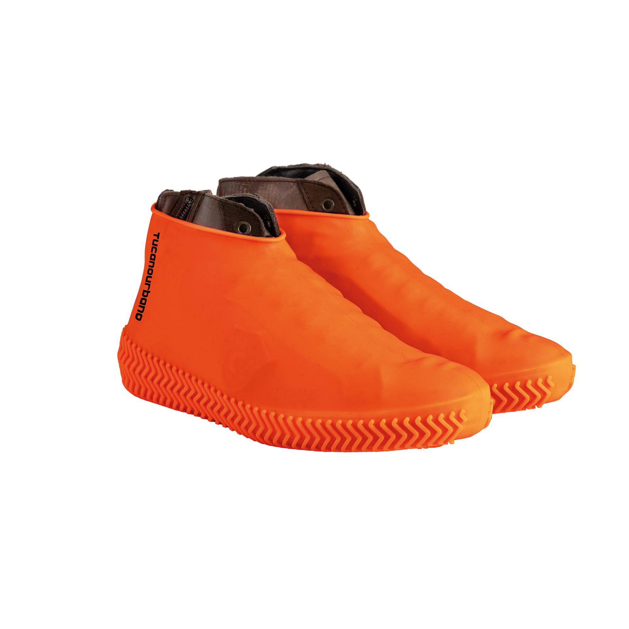 Shoe Cover Footerine Fluorescent Orange