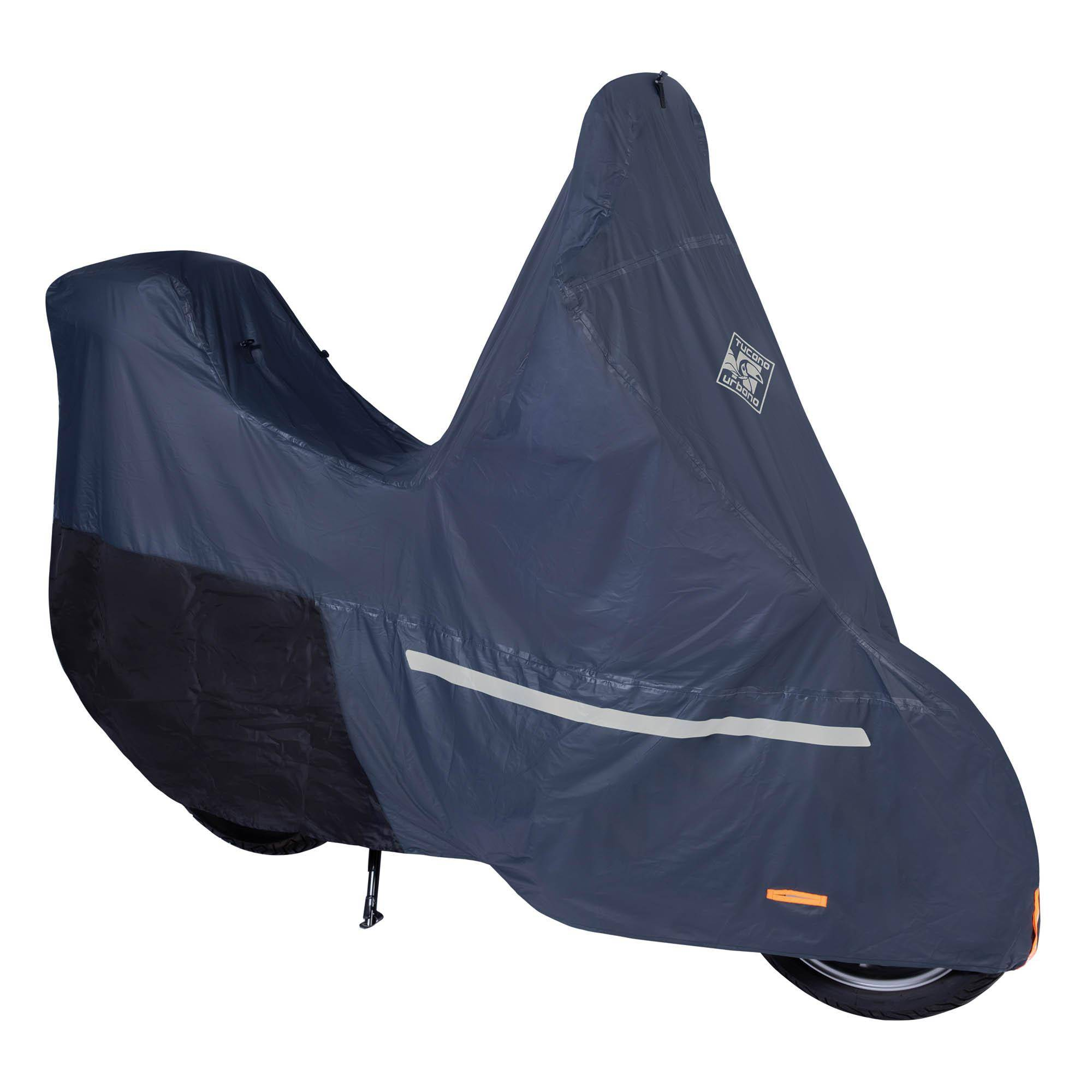 Scooter Covers Pro – Scooters With Top Case And Windscreen Dark Blue