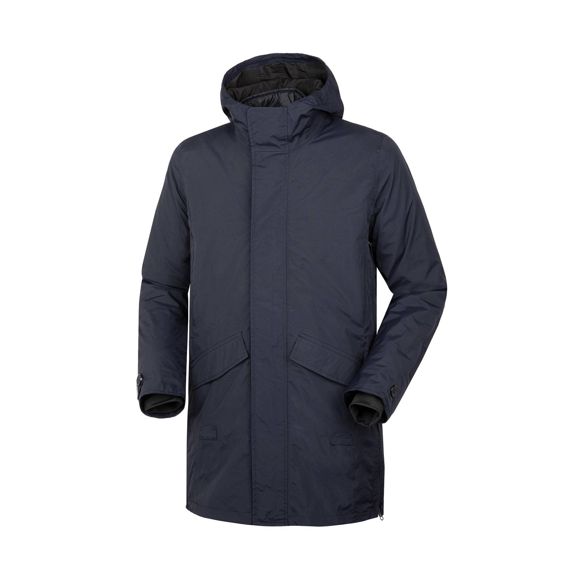 Magic Parka Blu Scuro